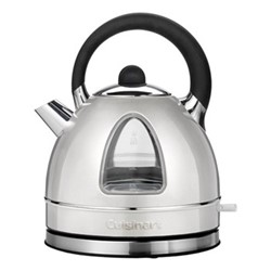 Style Collection CTK17SU Traditional kettle, 1.7 litre, frosted pearl silver