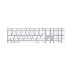 Magic keyboard with numeric keypad - British English, silver