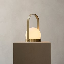Carrie Table lamp, H27 x D16cm, Brass