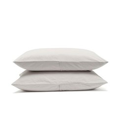 Relaxed Bedding Pair of pillowcases, 50 x 75cm, dove