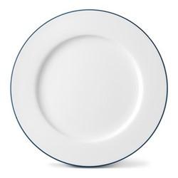 Rainbow Collection Dinner plate, 27cm, marine blue rim