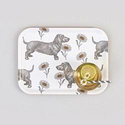 Dog & Daisy Small tray, 27 x 20cm