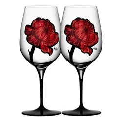 Tattoo Pair of wine glasses, 0.6 litre