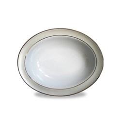 Clair de Lune Uni Open vegetable dish, 24cm