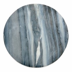 Esa Marble table mat, Dia28.5cm, grey
