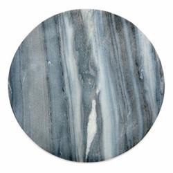 Esa Marble table mat, Dia28.5cm, grey