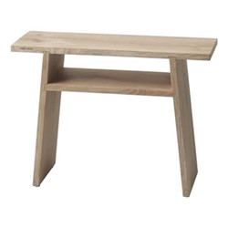 Mink Bath bench, L60 x W23 x H45cm, oak