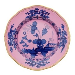 Oriente Italiano Plate, 26.5cm, azalea