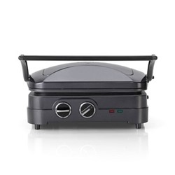 The Style Collection Griddle and Grill, Midnight Grey