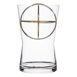 Sphere Medium vase, Dia14.5 x 22cm, gold