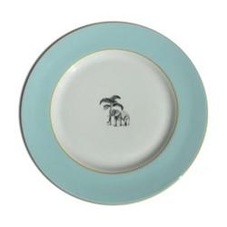 Harlequin - Blue Elephant Dinner plate, D26cm, blue
