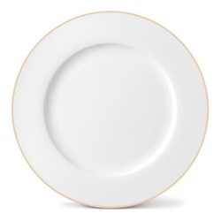 Rainbow Collection Dinner plate, 27cm, gold rim