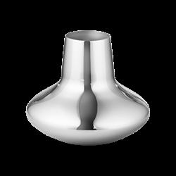 Henning Koppel Small vase, H12.4 x D15cm, silver