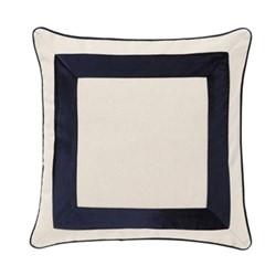 Cliffton Cushion, 45 x 45cm, midnight