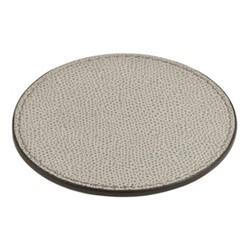 Tao Round coaster, 9.5cm, grey