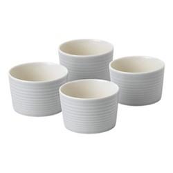 Gordon Ramsay - Maze Set of 4 ramekins, 10cm, light grey