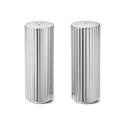 Bernadotte Salt and pepper shaker, 8.8cm, stainless steel