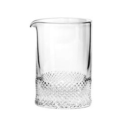 Diamond Water jug, H9 x D 6.5cm - 120ml, clear