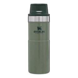 Classic Vacuum travel mug, 470ml, hammertone green