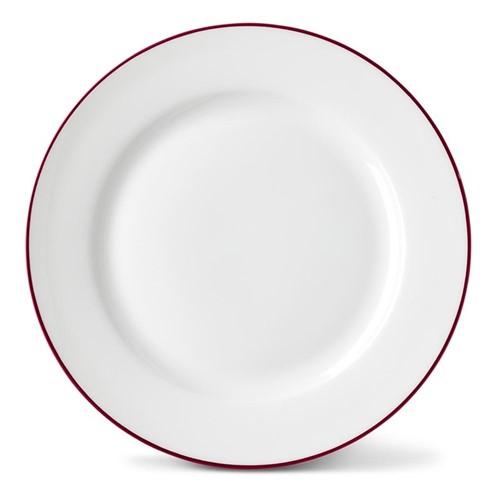 Rainbow Collection Side plate, 20cm, cerise pink rim