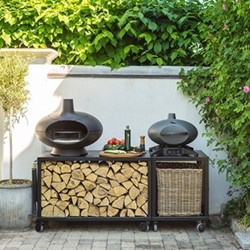 Forno Gas grill - piccolo, H39 x W49 x L46cm, black