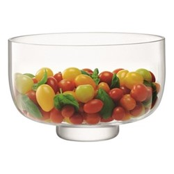 Serve Arch Bowl, H16 x D26cm, clear