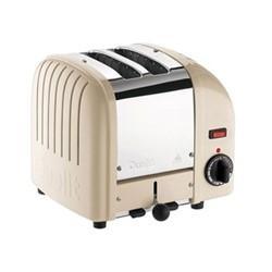 Classic Vario 2 slot toaster, utility cream