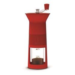 Macinacaffe Manual moka coffee grinder, red