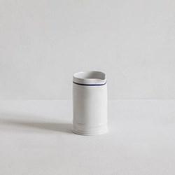Blue Line, Classic Tea tray milk jug, glazed porcelain