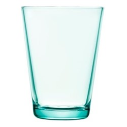 Kartio Pair of tall tumblers, 40cl, water green
