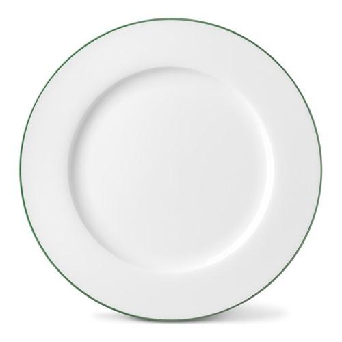 Rainbow Collection Dinner plate, 27cm, jungle green rim