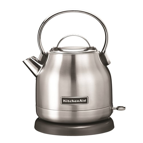 Traditional Dome kettle, 1.25 litre, stainless steel