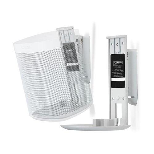 Sonos One Pair of wall mounts, white