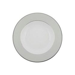 Clair de Lune Uni Large rim soup plate, 24cm