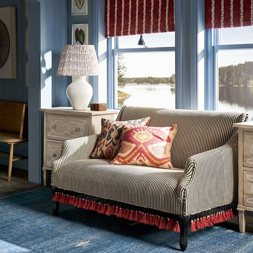 Tarma 2 seater sofa, W137 x D89 x H88cm, soft charcoal