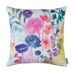 Peggy Daylight Cushion, 45 x 45cm, pink/blue