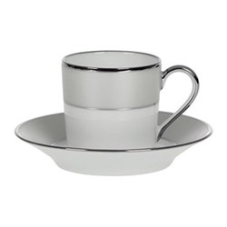 Clair de Lune Uni Coffee cup and saucer