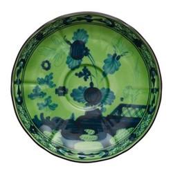 Oriente Italiano Tea saucer, 15cm, malachite