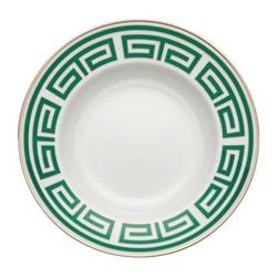 Labirinto Soup plate, 24.5cm, smeraldo