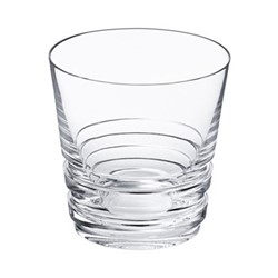 Oxymore Medium tumbler, H9 x D8.7cm, clear crystal