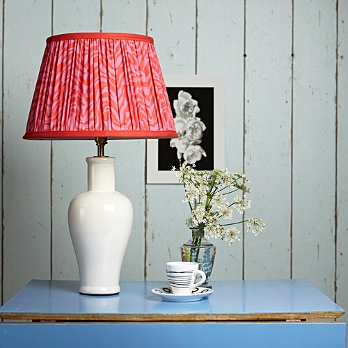 Lolita Small table lamp - base only, H33 x W13cm, stone