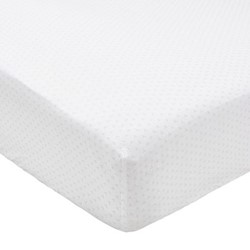Tua King size fitted sheet, L200 x W150 x H34cm, blush
