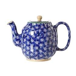 Lawn Teapot, H15cm - 1 litre, dark blue