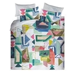 St Ives Double duvet cover set, 200 x 200cm