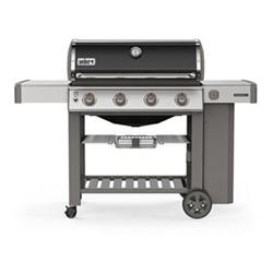 Genesis II  Gas barbecue - E-410 GBS, H120 x W165 x D74cm, black