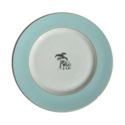 Harlequin - Blue Elephant Tea plate, D16.5cm, blue