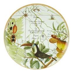 Amazonia Large plate, 40cm, green