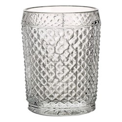 Bicos Set of 4 old fashioned tumblers, H11cm - 28cl, clear