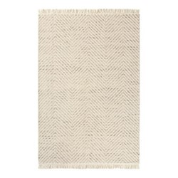 Atelier Twill Rug, 160 x 230cm, cream