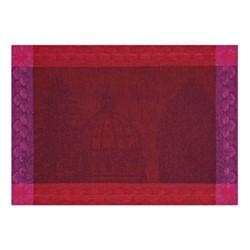 Symphonie Baroque Set of 4 placemats, 54 x 38cm, maroon